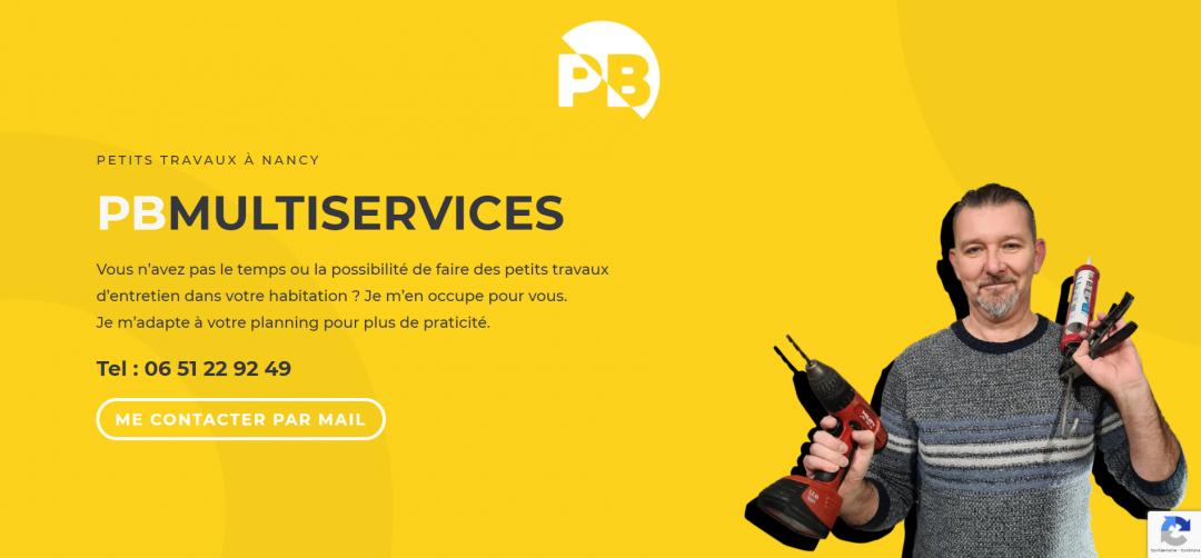 Site internet de PBMultiservices